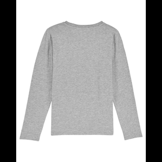 T-Shirt longsleeve heather grey