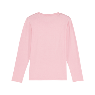 T-Shirt longsleeve cotton pink