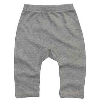 Baby Plain Leggings heather grey