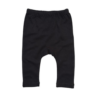 Baby Plain Leggings schwarz
