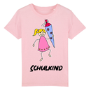 T-Shirt rosa Schulkind